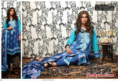 Stylish Winter Wear Dresses Collection 2013-14 By Orient Textiles