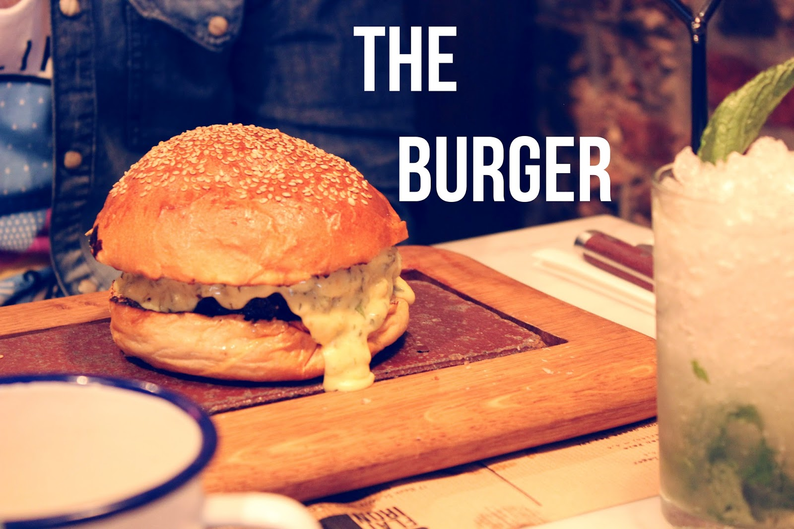 Burger at Flat Iron, Soho - by Art Style Love