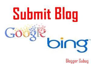 cara mendaftarkan blog ke google dan bing