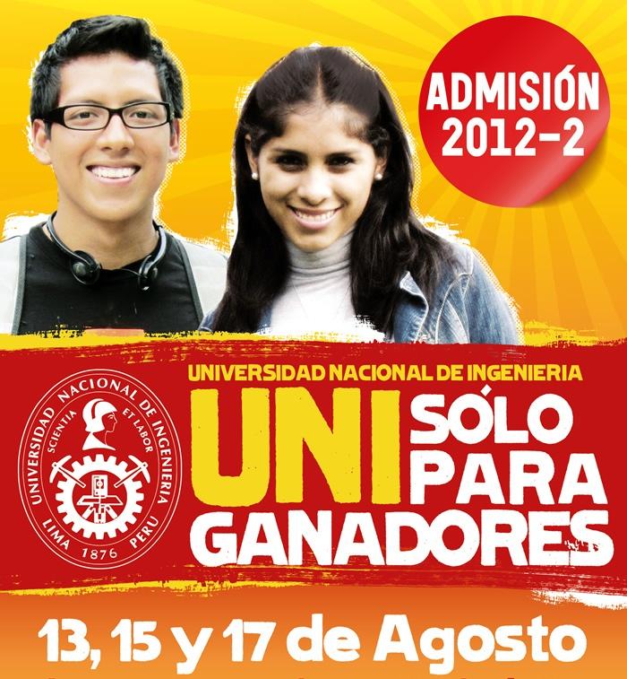 Ingresantes exámen a la UNI 2012 2 matematicas