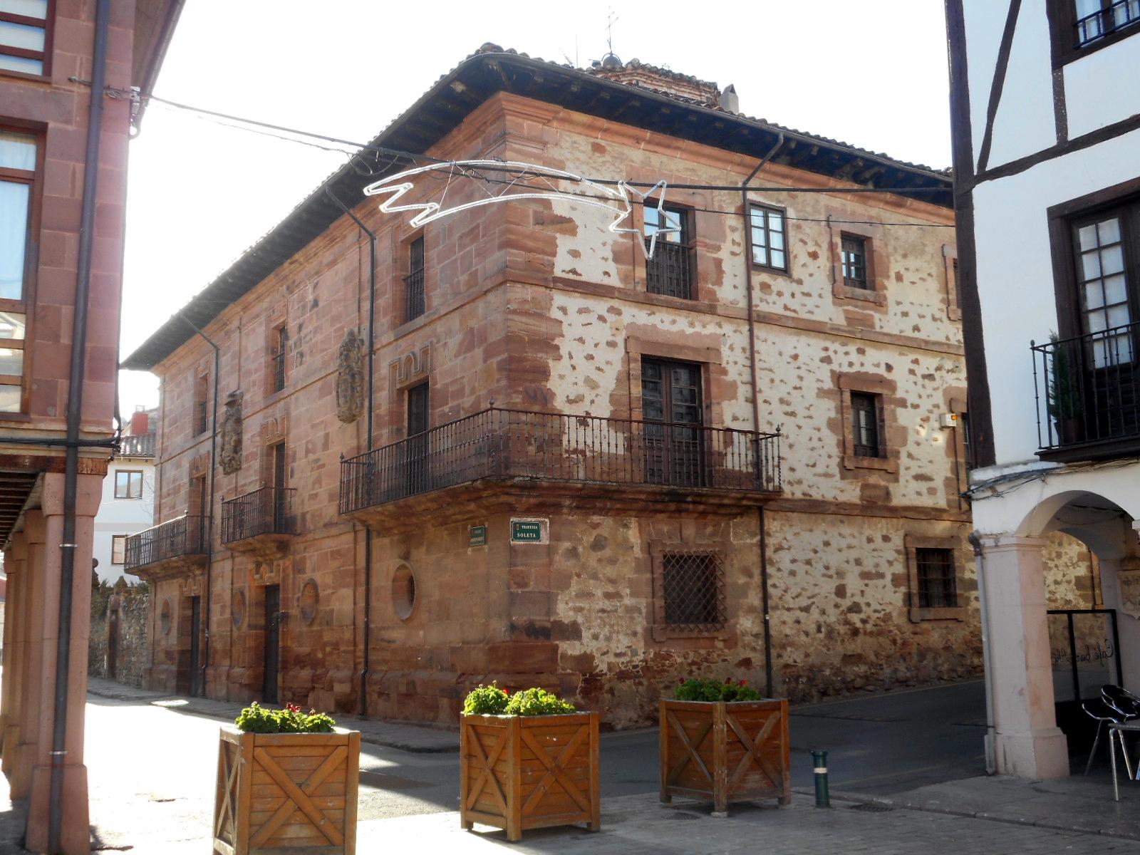 Resultado de imagen de palacio del Arzobispo Barroeta
