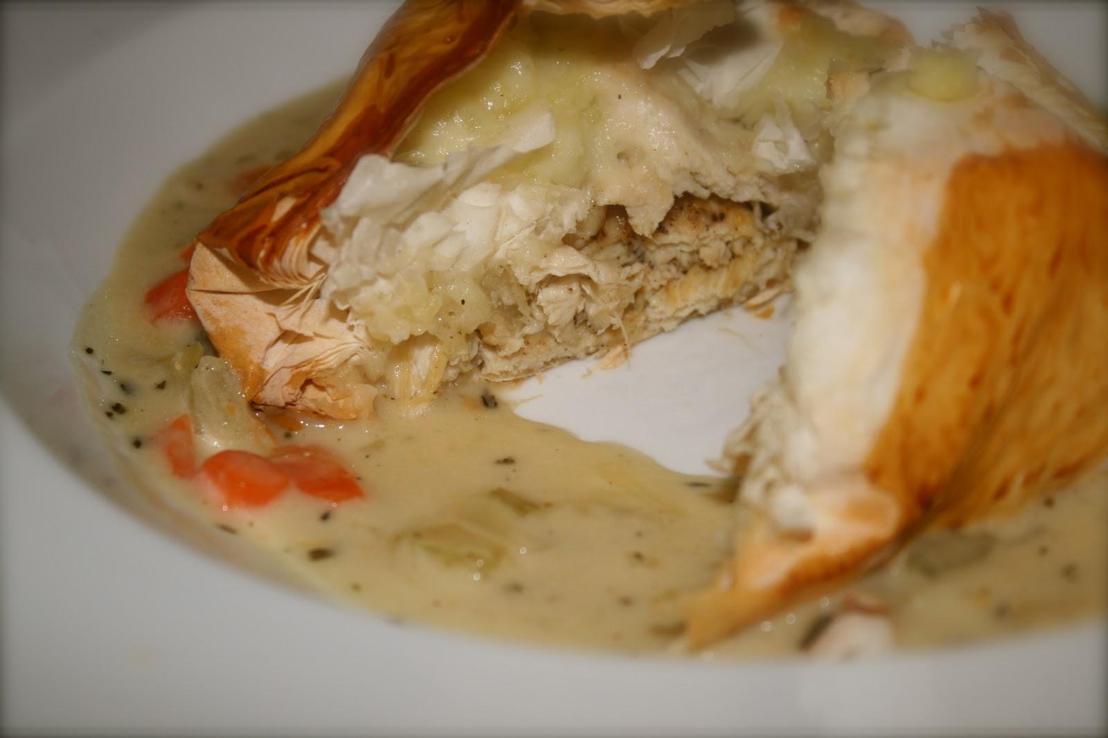 Inside-Out Chicken Pot Pie!!