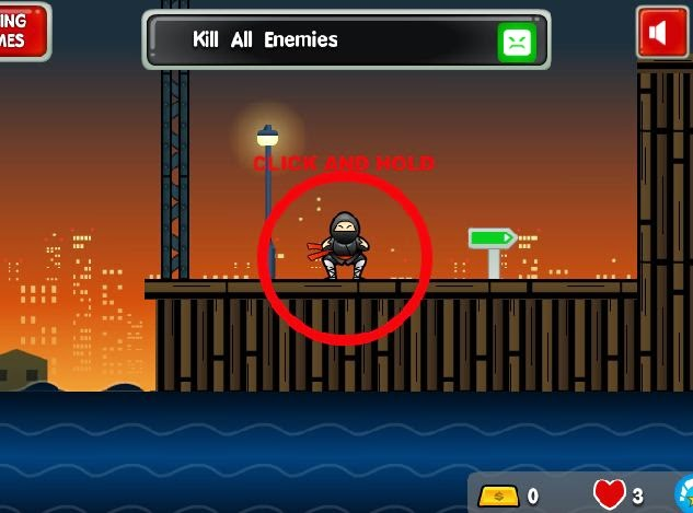 Sticky Ninja Missions, Sticky Ninja Missions game, Sticky Ninja Missions online game, Sticky Ninja Missions flash game