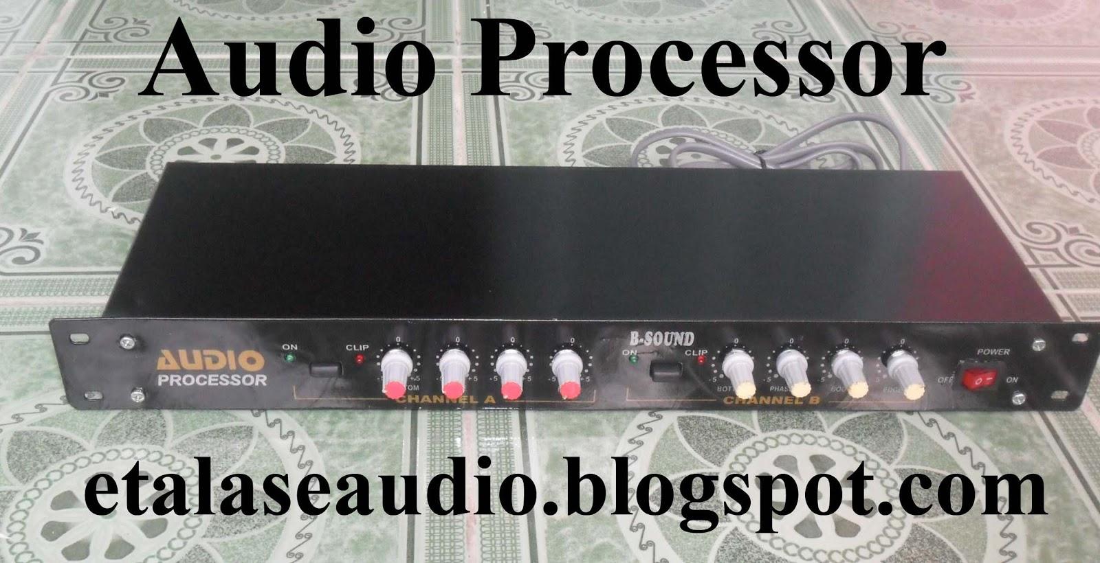 Harga Audio Processor Audio Processor Modif Total