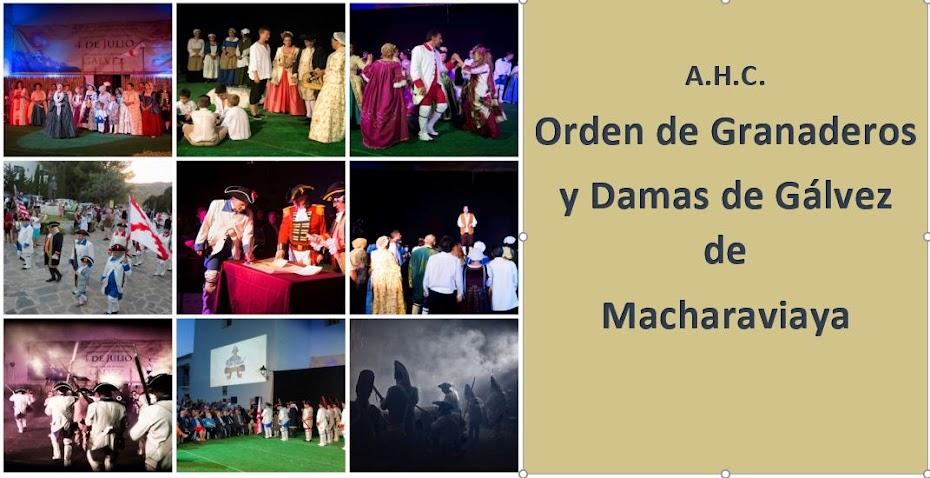 A.H.C. ORDEN DE GRANADEROS Y DAMAS DE GÁLVEZ DE MACHARAVIAYA