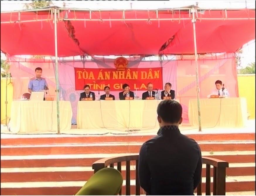 Gia Lai: Tòa án nhân dân tỉnh xét xử lưu động tại Kbang