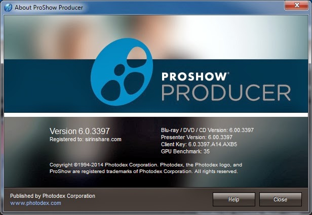 proshow producer 603397 registration key