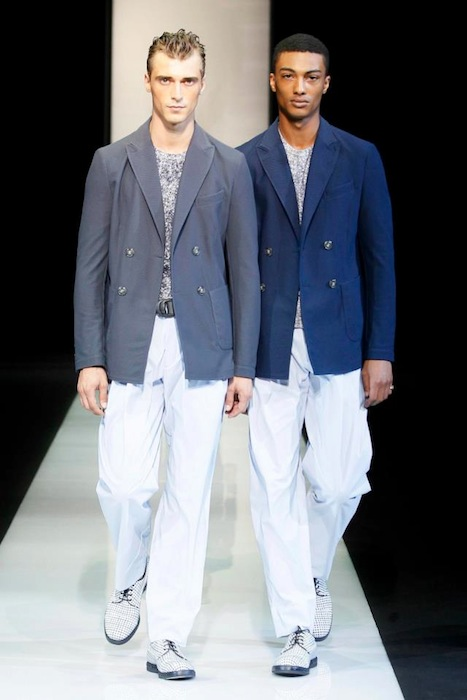 Giorgio Armani S/S 2013 Men's Fashion Photos