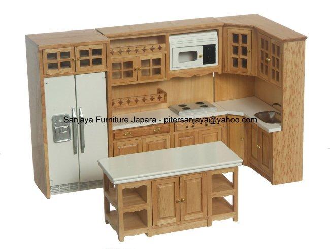 Kitchen Set Mewah Kayu Jati House Set Sleep Set Paint Set Beauty
