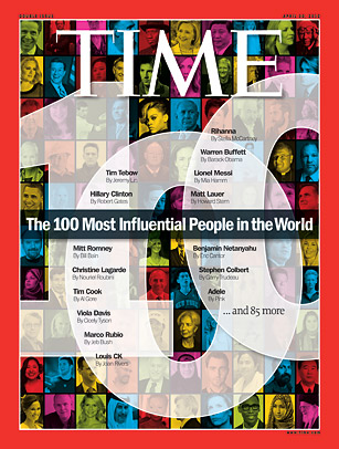 omotola on Time magazine most influential people