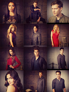 THE VAMPIRE DIARIES CASTS