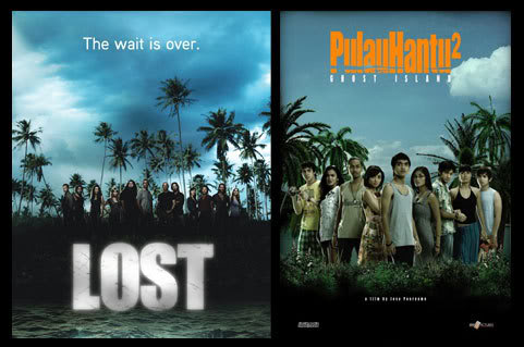 Lost vs Pulau Hantu 2