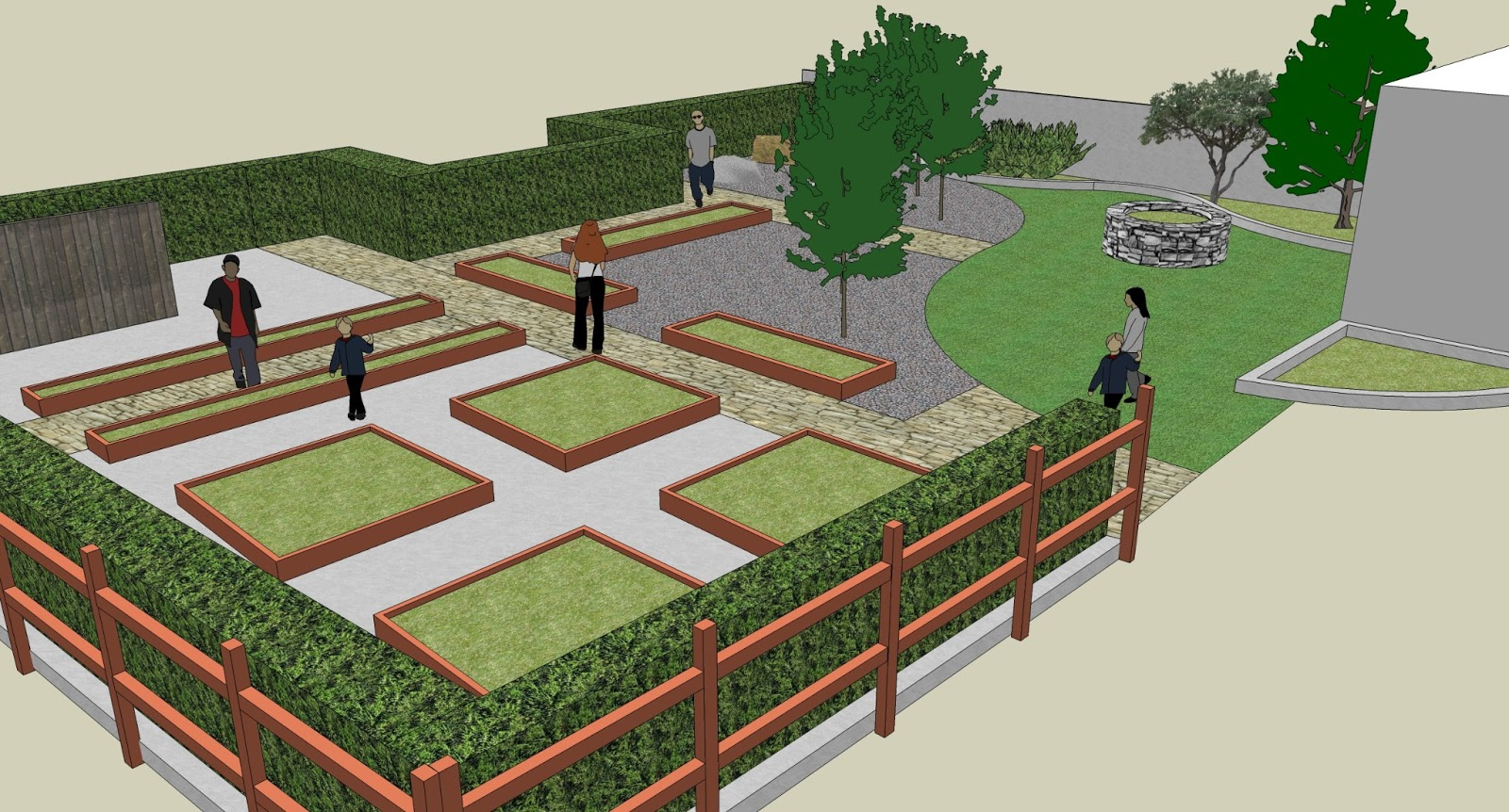 School garden design gannon griffin landscape architecture Garden design school