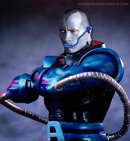 mockup The Rock as Apocalypse X-Men Dwayne Johnson