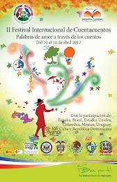 Del 10 al 14 de abril se celebra el II Festival Internacional de Cuentacuentos de República Dominic