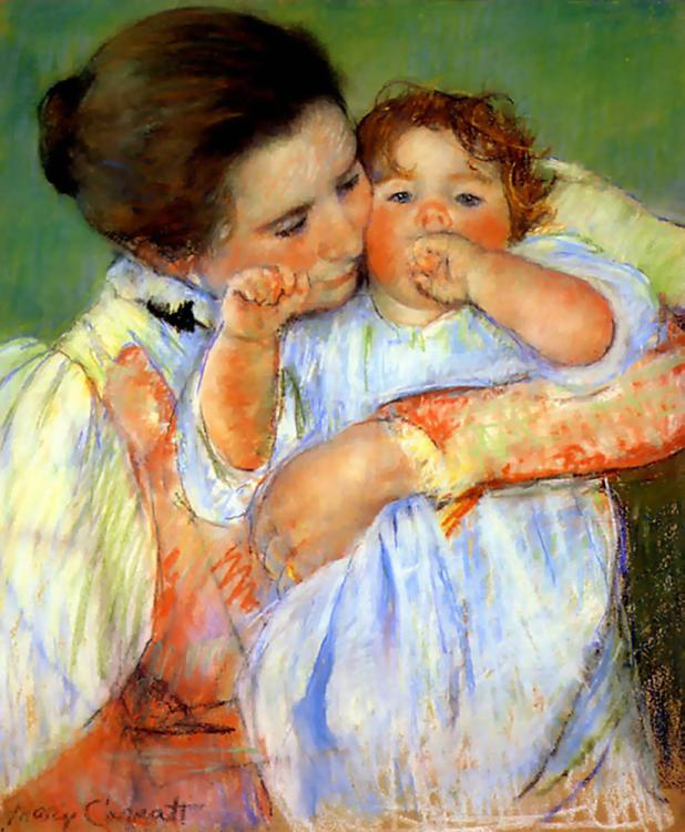 the blog of green honeydew: inspiration: mary cassatt | artist