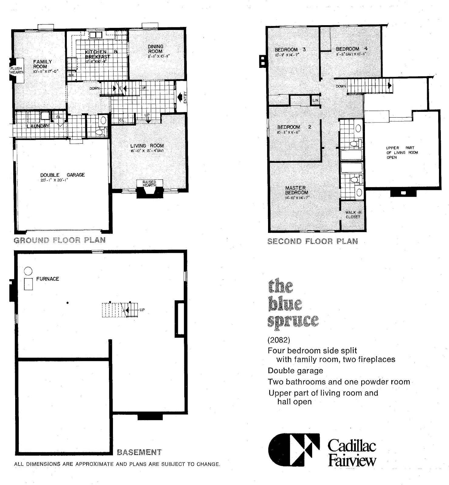 Mid century modern and 1970s era ottawa the uneven for Single roof line house plans