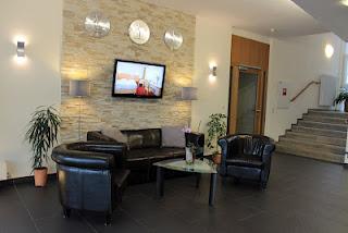 Empfangshalle, Hotel, Renovierung