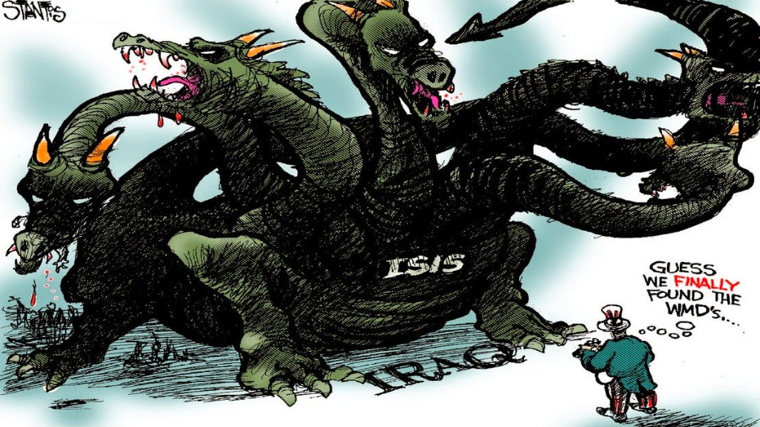 Scott Stantis: ISIS, Guess we finally found the WMDs.
