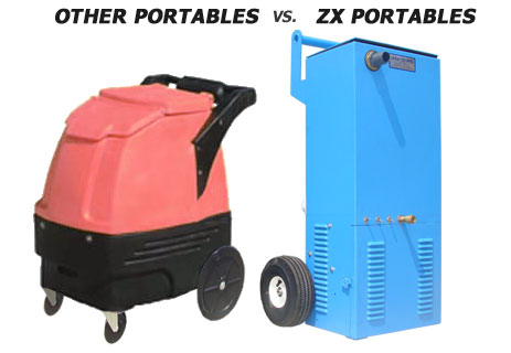 Portable carpet cleaners are vital tools for many cleaning businesses. They can go where truck mounted machines cannot, and they make an ideal starting ...