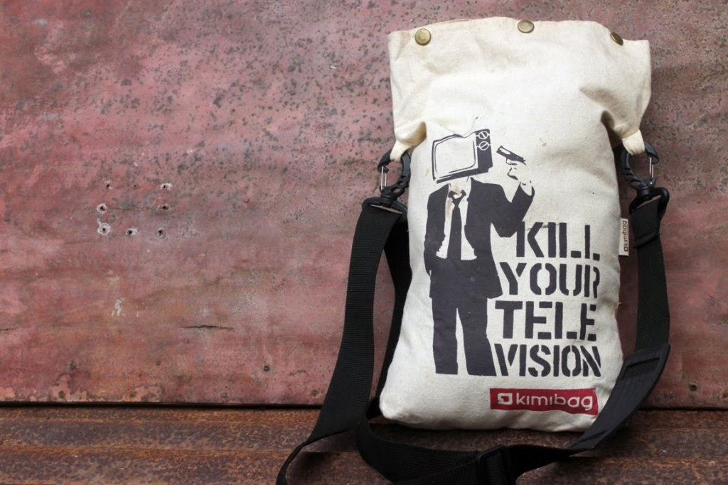Tas Selempang dengan sablon KimiBag