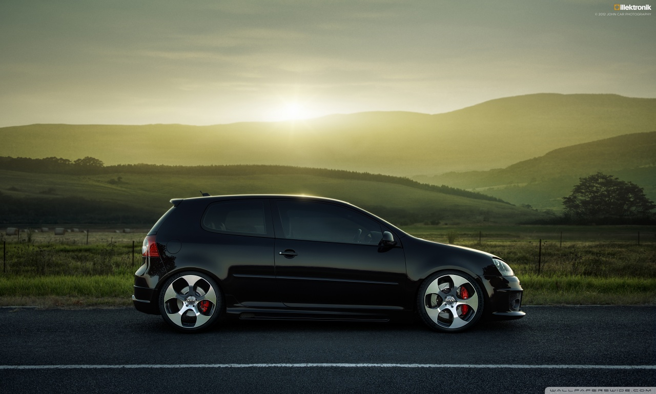 latest and new sport car wallpapers volkswagen golf gti wallpaper. Black Bedroom Furniture Sets. Home Design Ideas