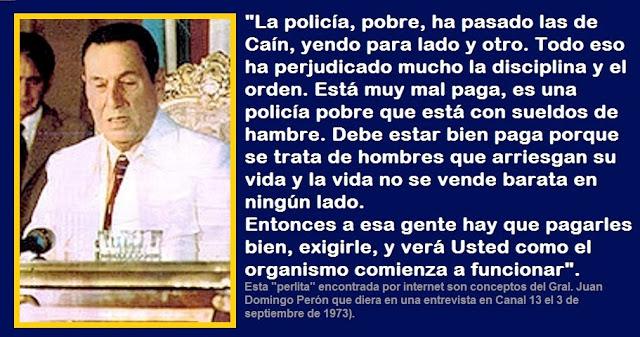PARA QUE LA POLICÍA EMPIECE A FUNCIONAR.