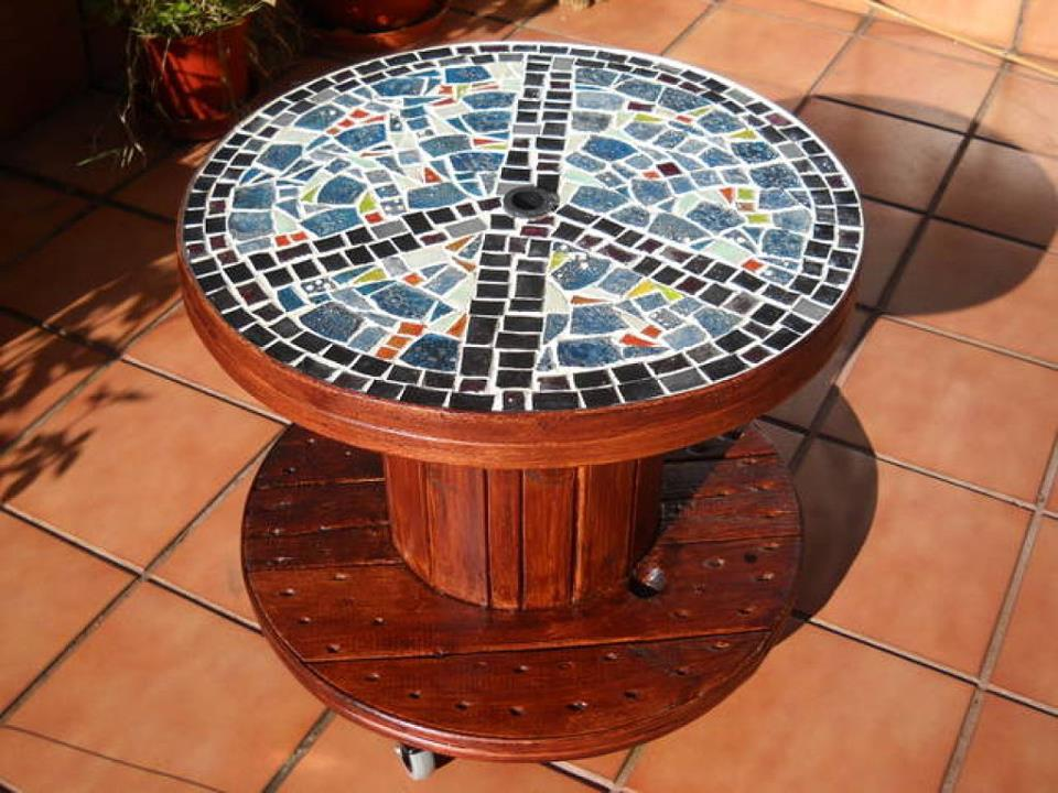 Wooden cable spools on pinterest wooden spool tables wire spool - Ecomania Blog Ideas Para Reciclar Las Bobinas De Cable