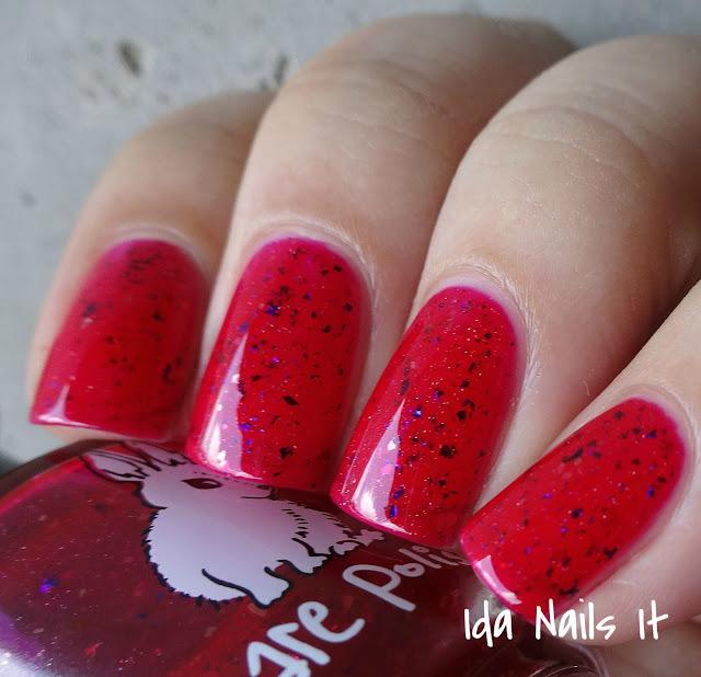Red Nail Polish Lana Del Rey: Ida Nails It: Hare Polish Lana Del Rey Duo: Swatches And