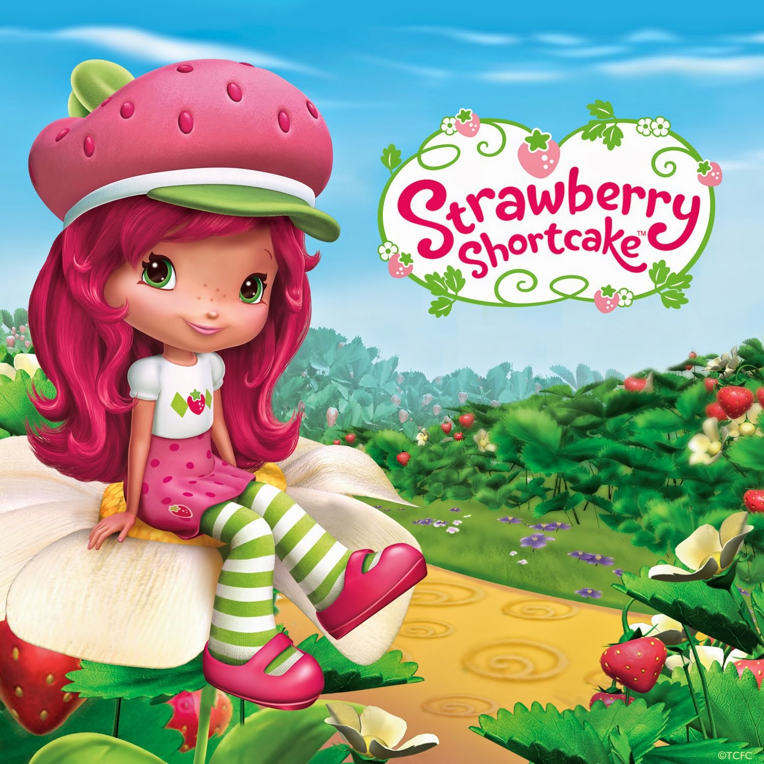 Strawberry Shortcake Blogger!