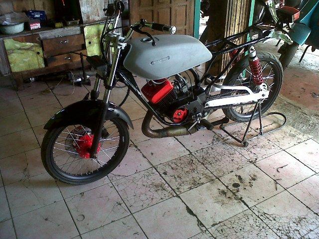 Modifikasi Motor Yamaha Rx 100