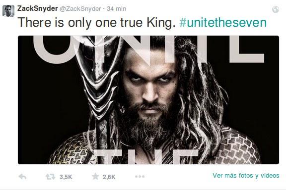 Jason Momoa - Aquaman - Twitter