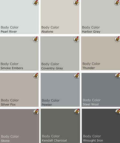 Shades Of Grey Paint Fascinating With Benjamin Moore Grey Paints Color Palette Photos