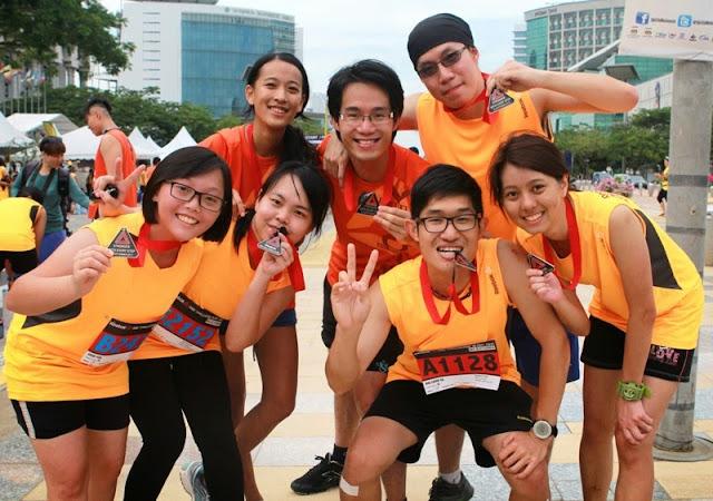 Reebok ONE Challenge 18.95k, reebok, chanllenge, putrajaya, malaysia, runners, participants