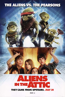 Aliens in the attic (Pequeños invasores) (2009) Español Latino