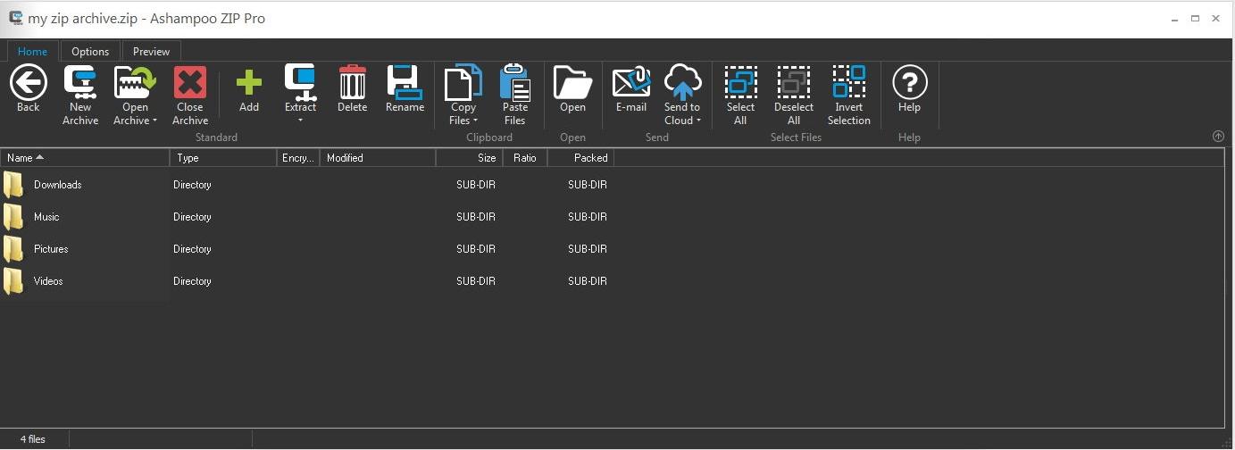 Ashampoo ZIP Pro v1.0.3