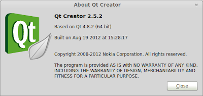 Qt Creator IDE (About)