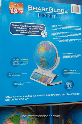 Learning can be fun with the Oregon Scientific Xplore SmartGlobe Infinity Interactive Globe
