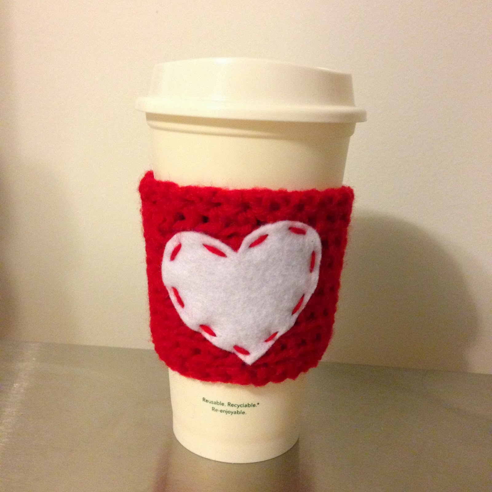 Starbucks Cup Cozy Crochet Pattern Custom Design Inspiration