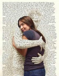 HUG YOUR BOOKS!