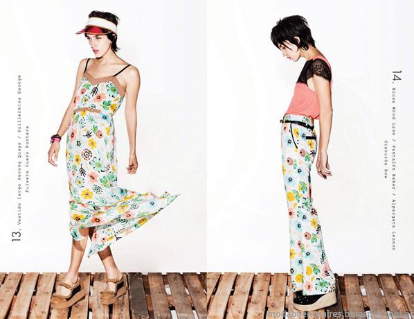 Delaostia vestidos primavera verano 2014