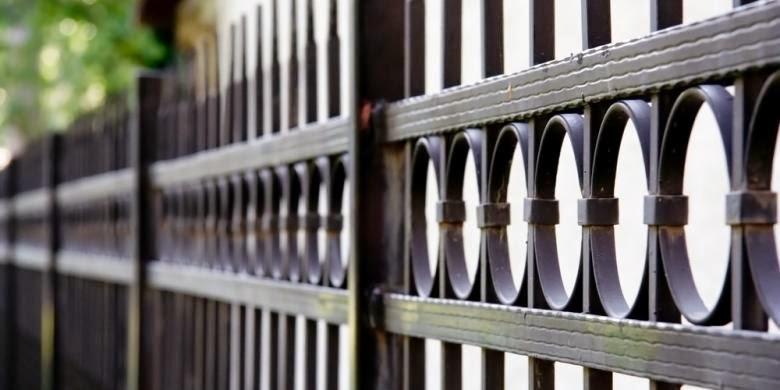 cara cepat mencegah pagar besi yang berkarat