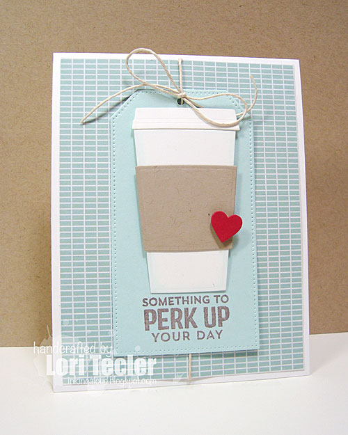 Something to Perk You Up card-designed by Lori Tecler/Inking Aloud-stamps and dies from My Favorite Things