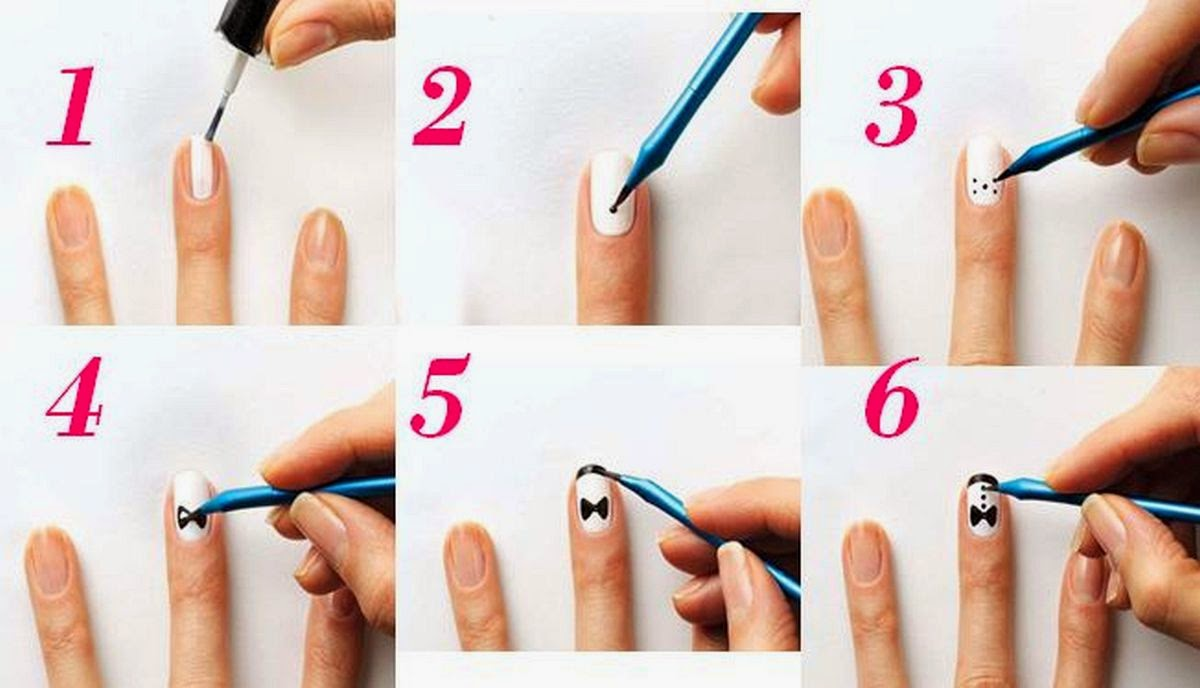 Nail Art Step by Step Very Awesome Pictures | Kuovi