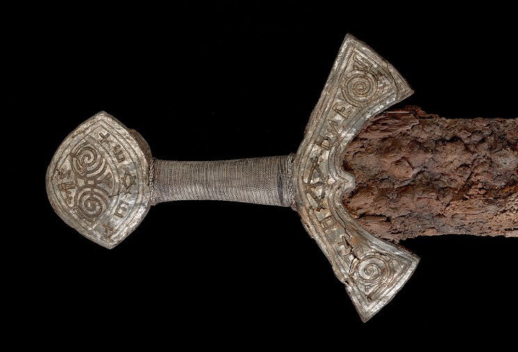 The last Viking and his 'magical' sword?