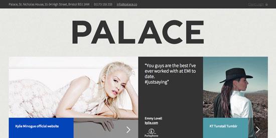 flat website