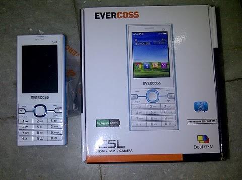 Spesifikasi Dan Harga Evercoss C5L Ponsel Candybar Dengan