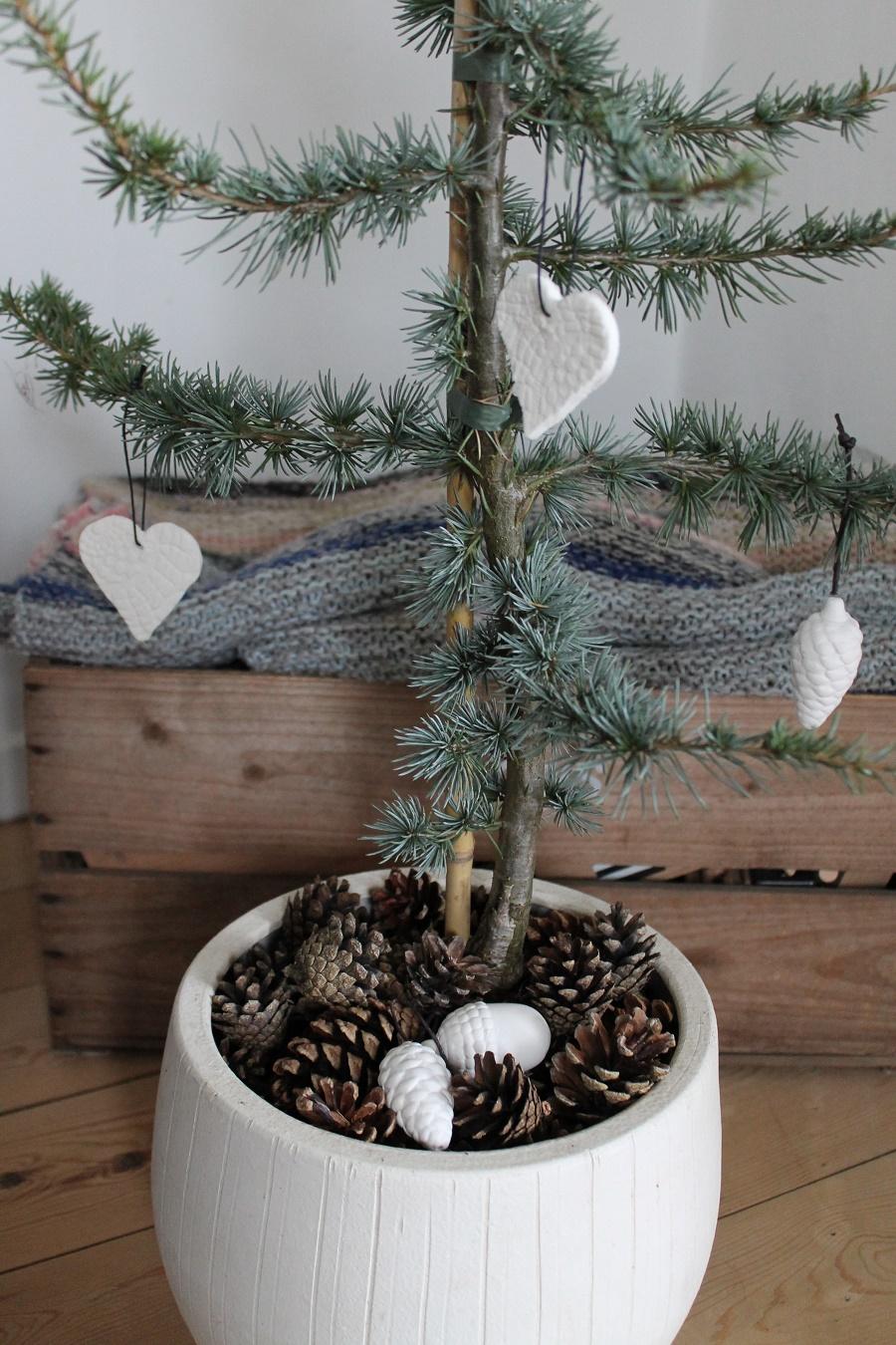 pyntning af jule træ