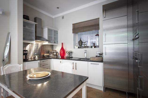muebles de cocina de acero
