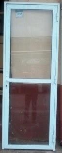 porta de aluminio branco